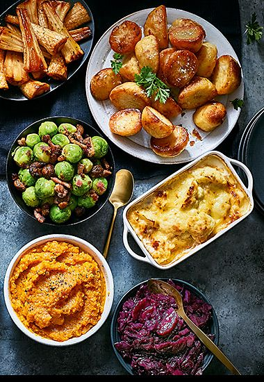 A selection of Christmas sides
