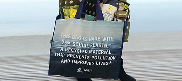 M&S eco shopping bag