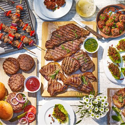 Fire up the grill with 10% off barbecue food