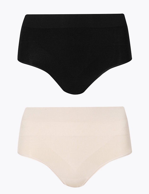 M/&S COLLECTION FIRM CONTROL FULL BRIEFS//KNICKERS Sizes 8 to 22