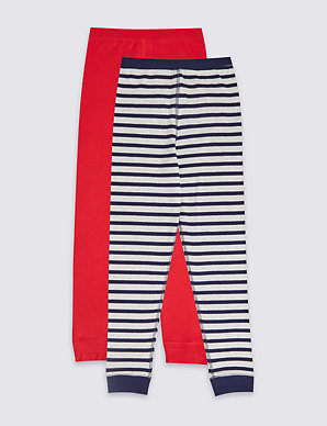 e429ee0d8 2 Pack Thermal Long Pants (18 Months - 16 Years) | M&S