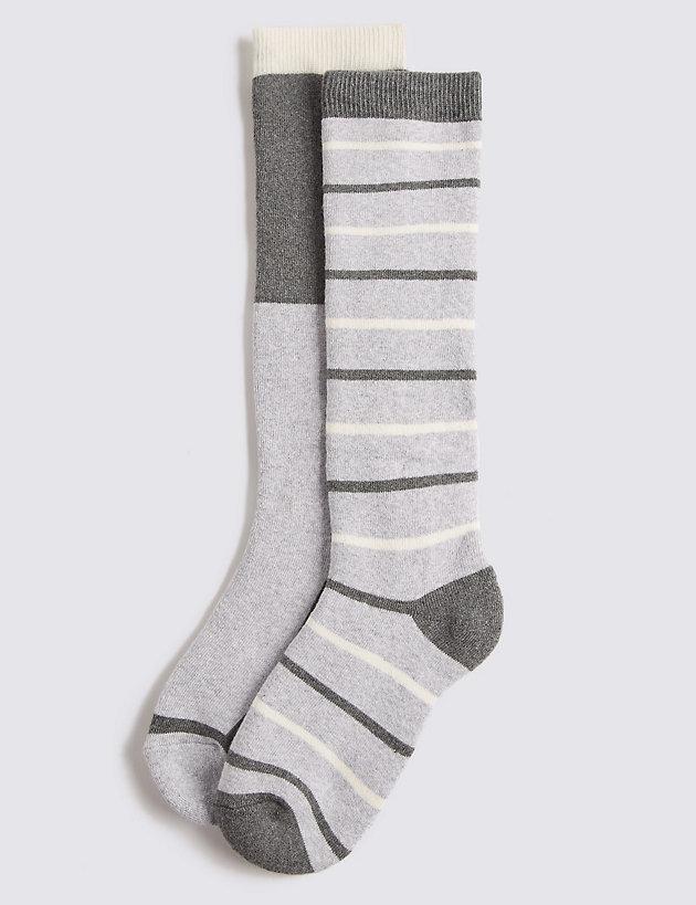 Men/'s White Twin Striped Trainer Socks Summer Sports Gym Wear 3 Pair Pack