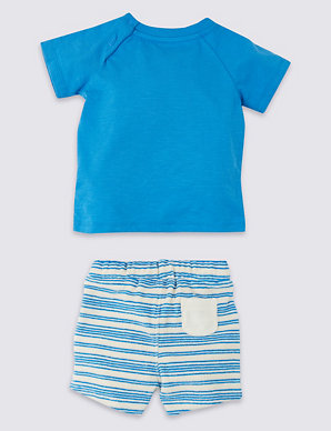 6c7a22c50 2 Piece Top with Shorts Outfit | M&S