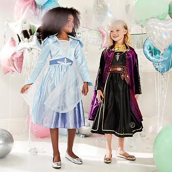 Girl/'s Kids Frozen Elsa Anna Beach Pyjama Dress Nightie Nightdress Sleepwear Top