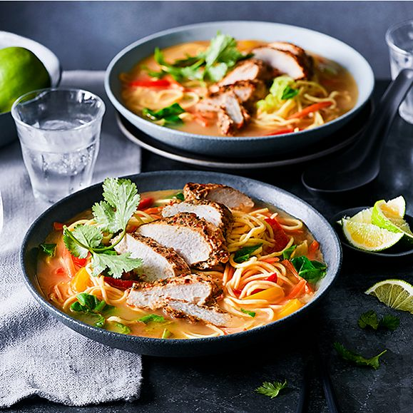 M&S ITSU chicken noodle bowl