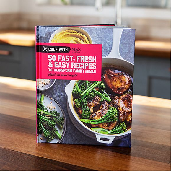 The new Cook with M&S cookbook