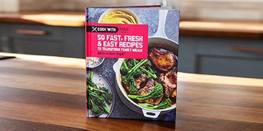 Cook with M&S cookbook