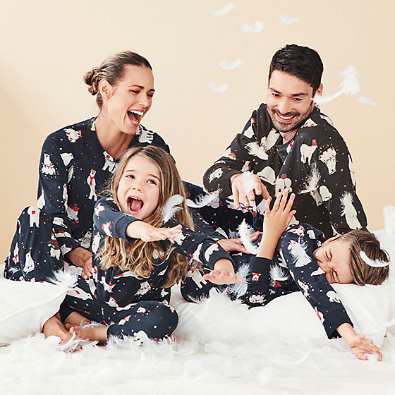 Matching Christmas Pyjamas For All The Family M S Ie