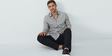 How to style a checked shirt