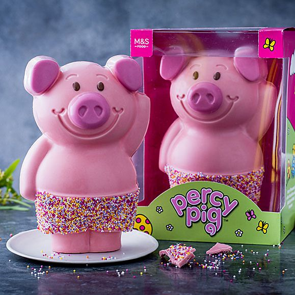 Percy Pig Easter egg
