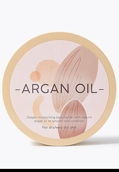 Pot of Nature's Ingredients argan oil body butter