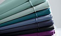 Plain sheets in different colours