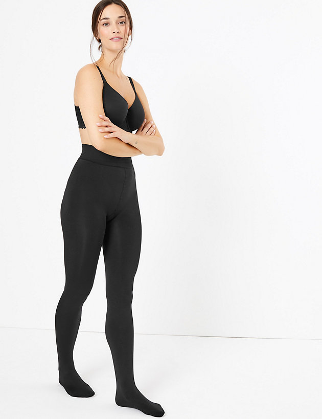 250 Denier Lined Thermal Tights