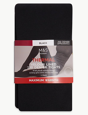 6b203030c0dec 250 Denier Thermal Tights | M&S Collection | M&S