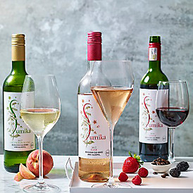 Low-calorie Sumika wine