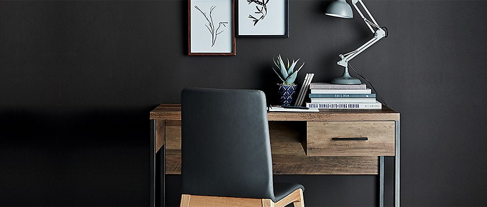 Baltimore Wooden Desk And Chair With Home Office Accessories