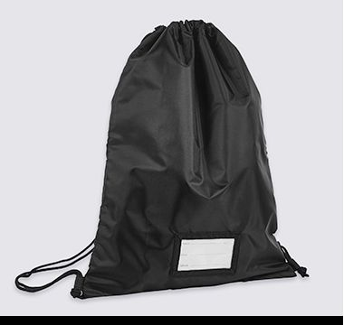 School drawstring bag