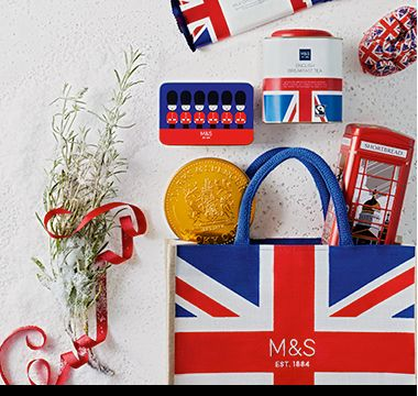 The taste of Britain hamper