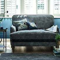 Love seat in living room