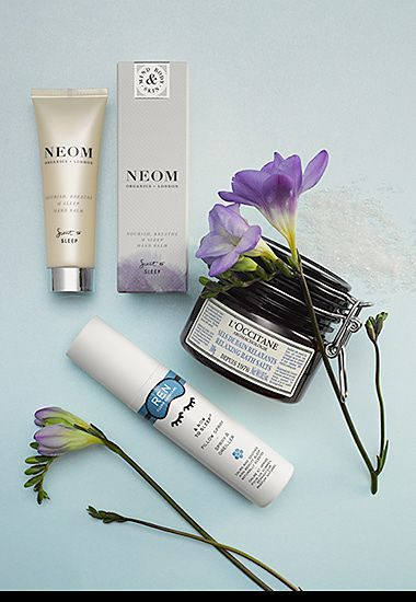 Beauty sleep heroes by Neom, Ren and L'Occitane