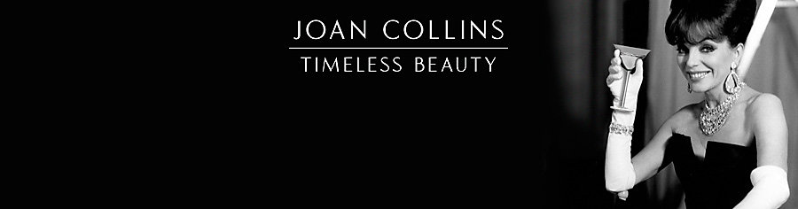 Joan Collins Timeless Beauty range
