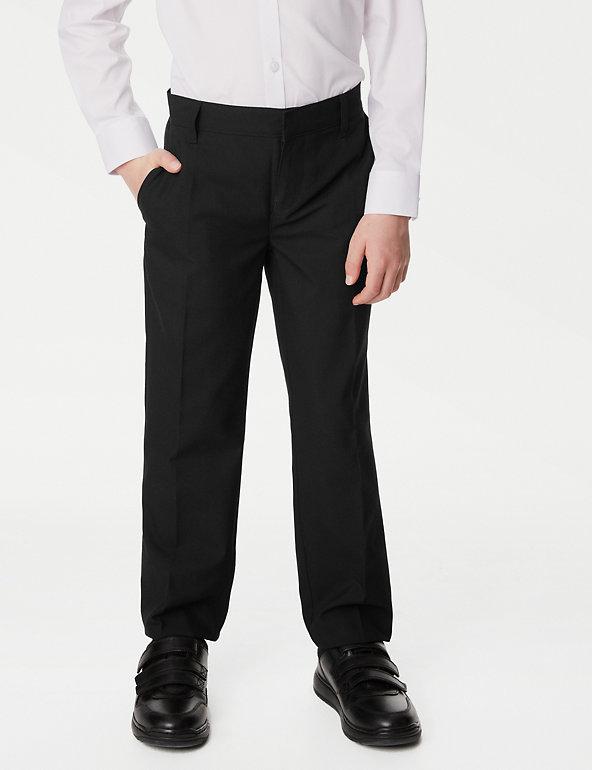 Smart Classic 2PK Boys School Trousers 3 Colors