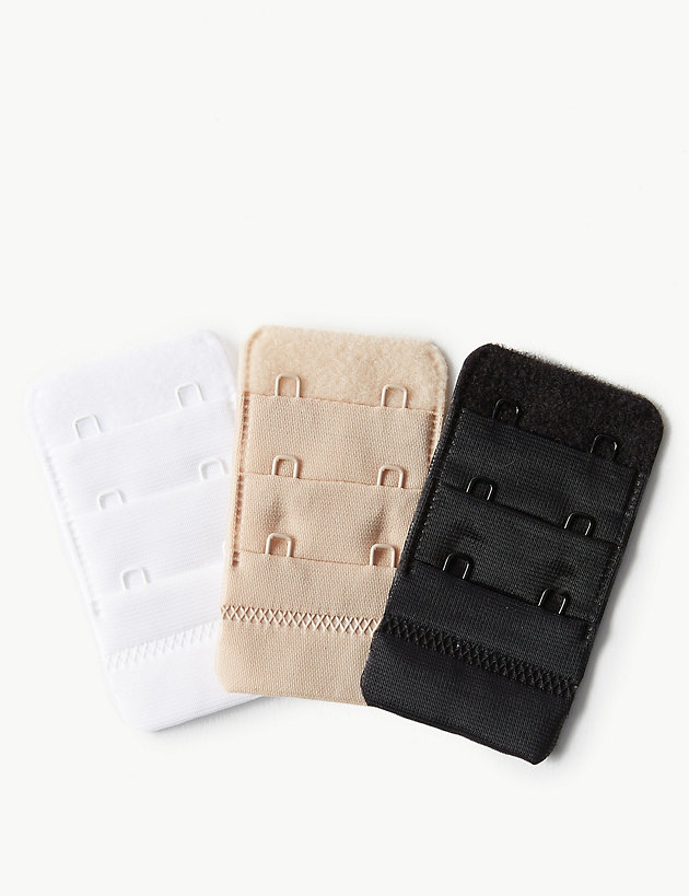 2 Hook Bra Strap No Sewing Maternity  Pregnancy UK SALE 3 x Bra Extender