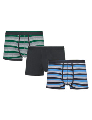 M/&S 3 Pack Pure Cotton Cool /& Fresh™ Hipster RRP£18.00