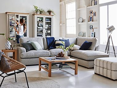 Living room with M&S furniture