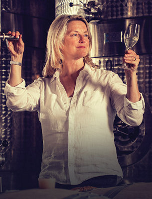 Meet Sue Daniels, one of our expert wine makers