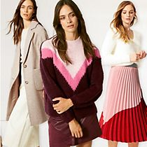 Models wear the new M&S autumn collection