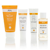 Ren Glow Your Own Way radiance boosting face kit
