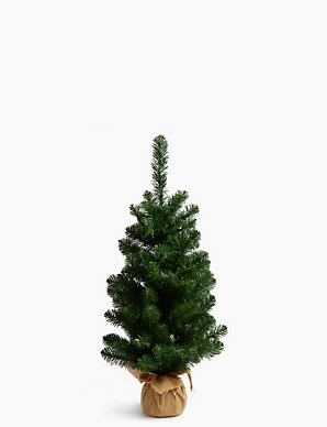 best service 3284a 2eb9a 3ft Pre Lit Nordic Spruce Christmas Tree | M&S