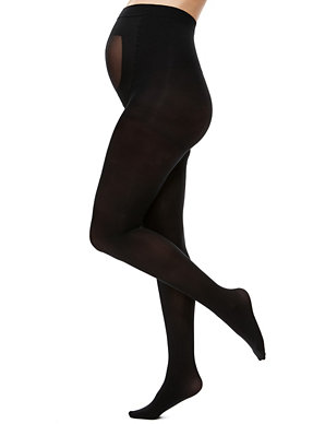 edaf3673f5c57 40 Denier Body Sensor™ Opaque Maternity Tights | M&S Collection | M&S