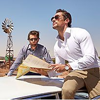 David Gandy wearing an M&S white formal shirt