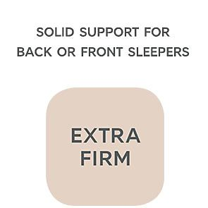 Extra firm mattress support