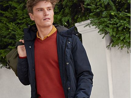 Oliver Cheshire wearing our Must-Have jumper