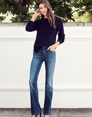 Womens Jean Styles, Types, Fit   Cut Guide   M S 01795e2c828a