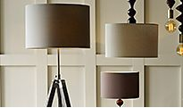 Floor lamps and ceiling lights