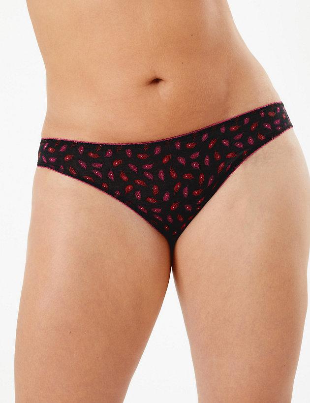5 Pack Cotton Lycra Bikini Briefs