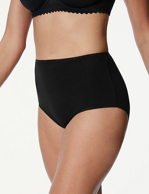 f8ca8dae5f7 5 Pack Cotton Rich Full Briefs with New & Improved Fabric | M&S Collection  | M&S