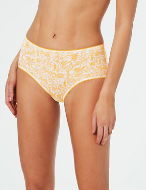 10579b99dfcdc5 5 Pack Cotton Rich Midi Knickers | M&S Collection | M&S