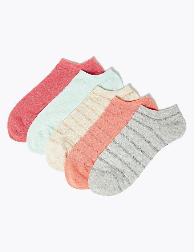 m&s trainer socks women