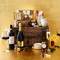 Panettone and prosecco gift