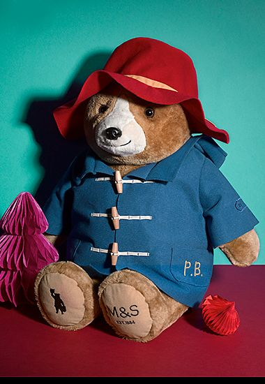 Paddington cuddly toy