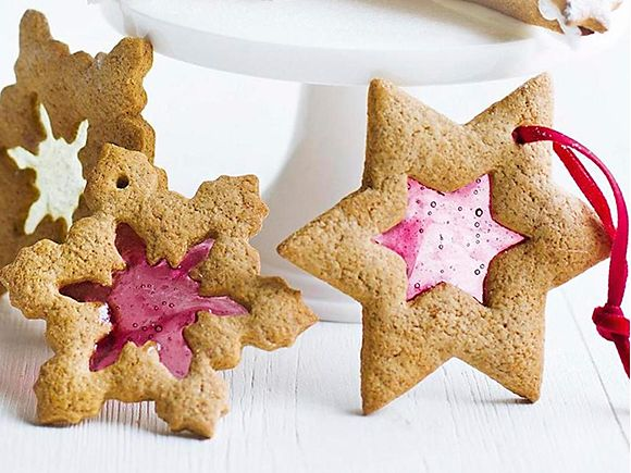 Gingerbread window biscuits recipe