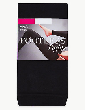 224177796810b 60 Denier Footless Tights   M&S Collection   M&S