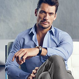 David Gandy in M&S clothes