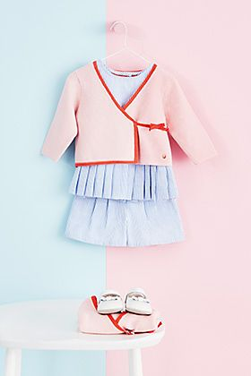 Autograph baby girl's sailor top