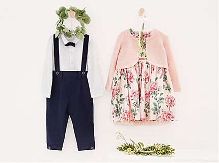 Kids' occasion outifts